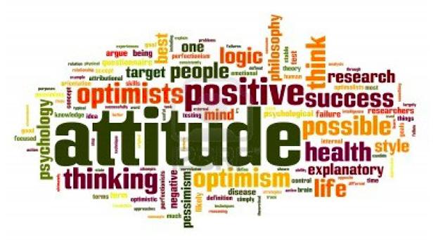 Een positieve houding brengt je verder