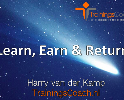 Trainingscoach - Learn Earn and Return
