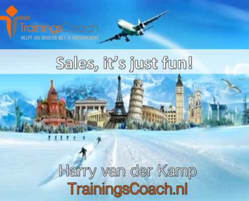 Sales, it's just fun - Trainingscoach.nl