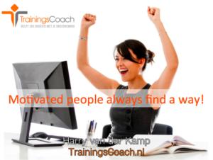 Online Training met de TrainingsCoach