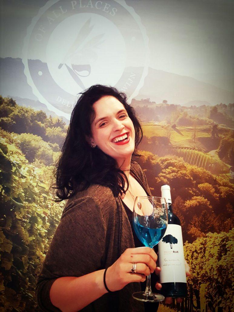 Coach voor Qredits - Mady met de blauwe wijn