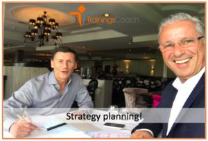 Een topverkoper doet aan strategy planning
