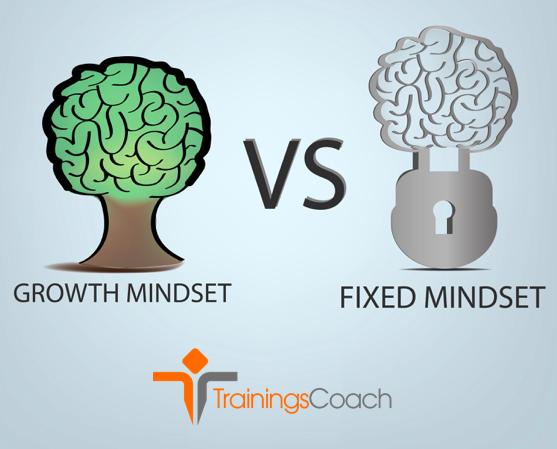 Mindset vaststaande versus groei