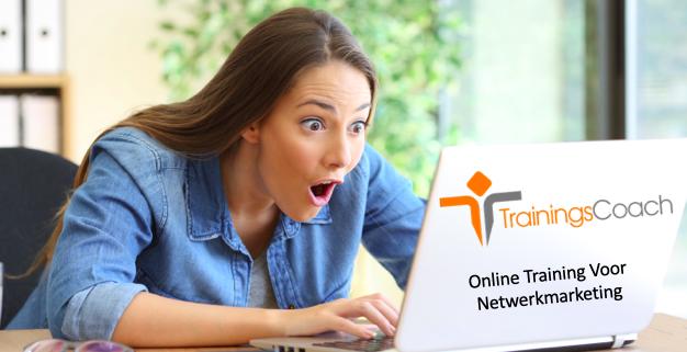 Online training voor netwerkmarketing